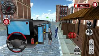 Modern Bus Driving Simulator #3 New Bus Unlocked - Android Gameplay FHD