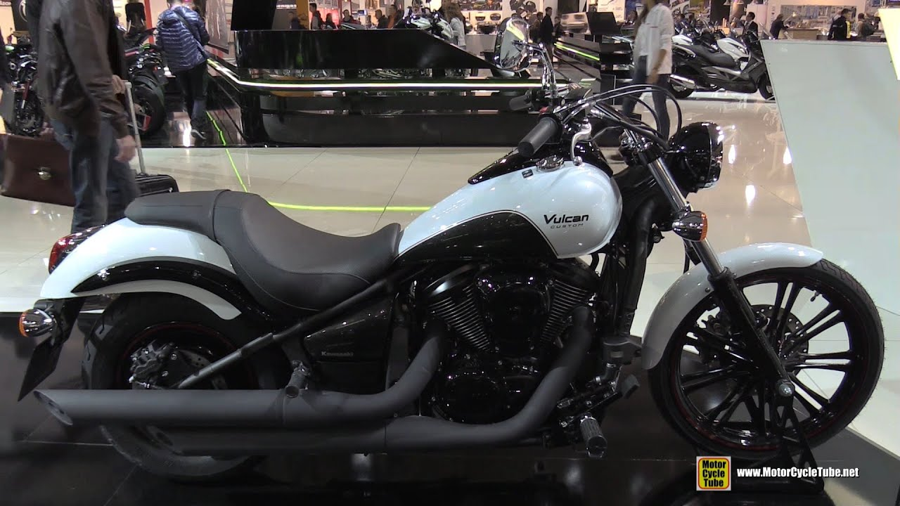 2016 kawasaki vulcan 900 custom walkaround 2015 eicma milan youtube. Black Bedroom Furniture Sets. Home Design Ideas
