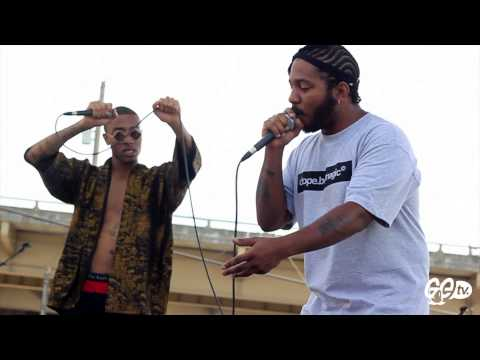 """THE COOL KIDS - CHUCK INGLISH """"SWERVIN"""" LIVE"""