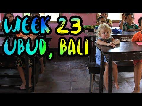 Bali Yoga, Canyoning, Monkey Forest, and the Orphanage!! /// WEEK 23 : Ubud, Bali, Indonesia