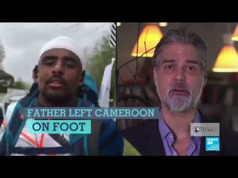 Running from France to Morocco to honour migrants