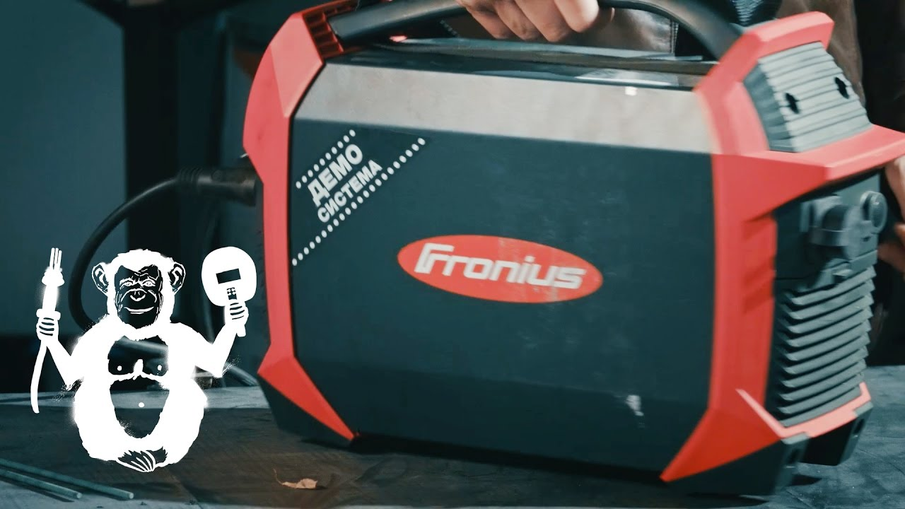 Сварочный аппарат на батарейках Fronius AccuPocket - Территория сварки
