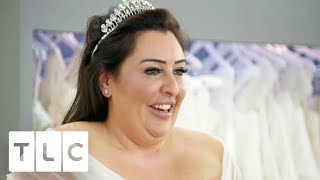 Self Confessed 'Control Freak' Bride Struggles To Choose A Dress | Curvy Brides' Boutique