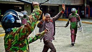 Police Brutality As Kenya Goes Under Curfew!!