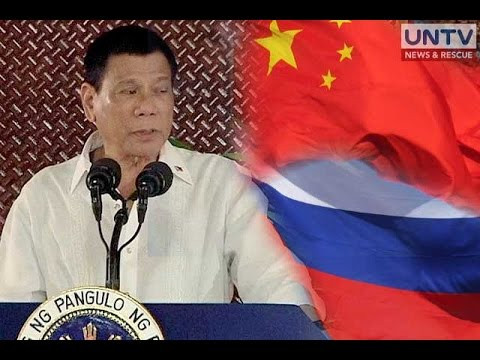 Duterte to open alliance with China and Russia
