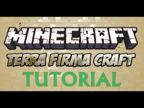 Terrafirmacraft Tutorial - How to Make Copper Tools