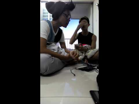 ungu bila tiba cover by khai ft syed