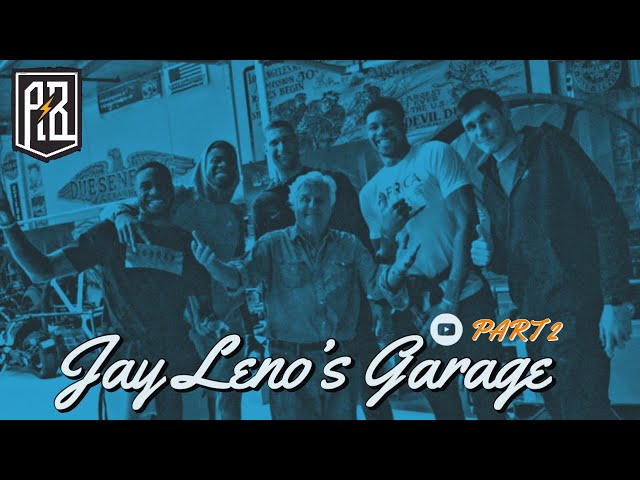 Thanasis, Giannis & Kostas check out world's FIRST electric car at Jay Leno's garage in LA! - Pt.2