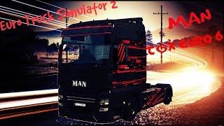 ETS 2 Multi Test nowego Man'a TGX Euro 6