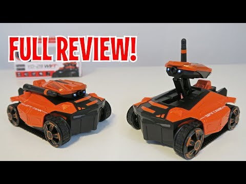 UNBOXING & LETS PLAY -ATTOP YD-211 SPY ROBOT TANK - FULL REVIEW By RCMOMENT