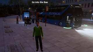 видео Автобус в Росток