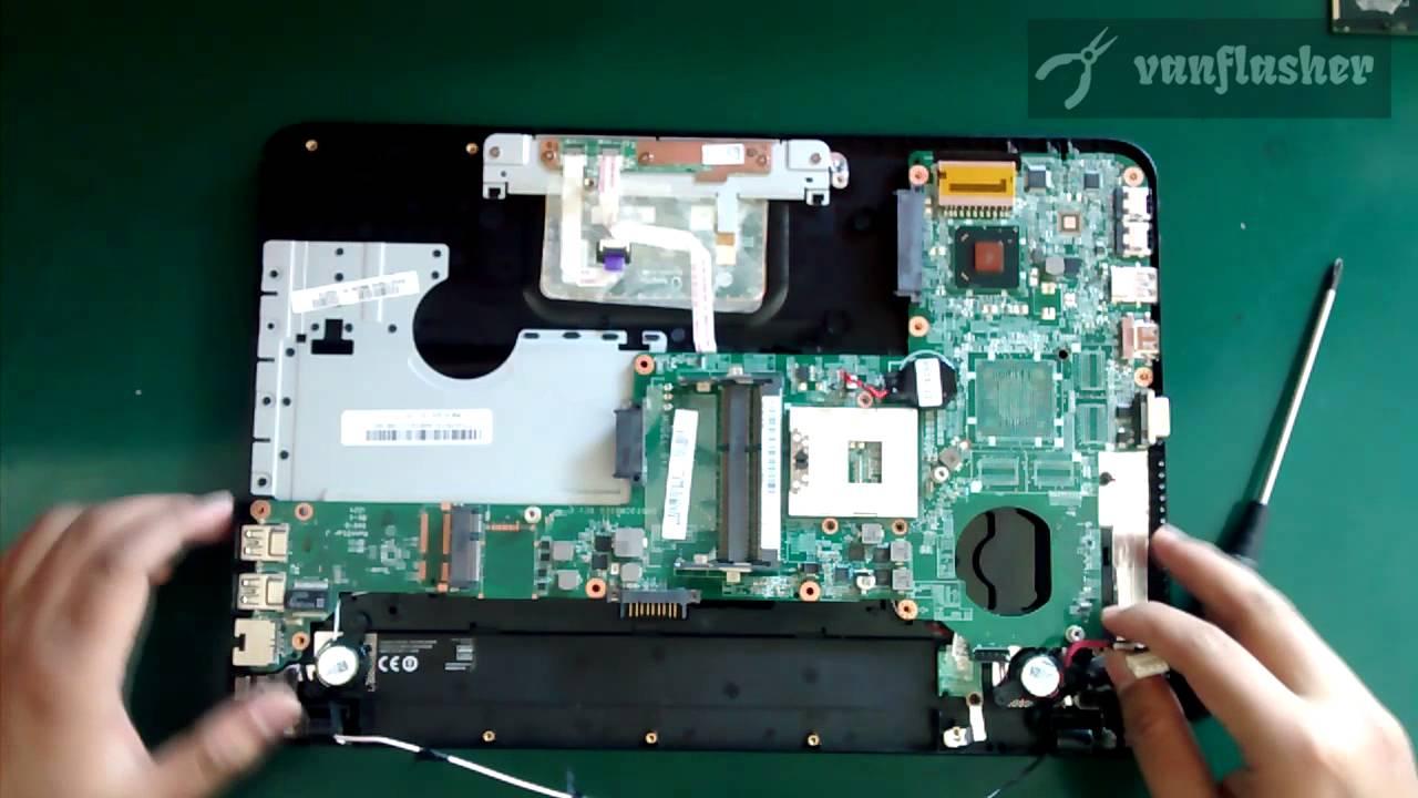 Toshiba Satellite C800 C800d C840 L840 M840 Reassembly