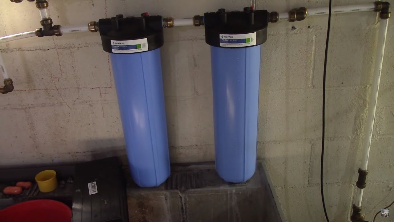 DIY Whole House Water Filter System