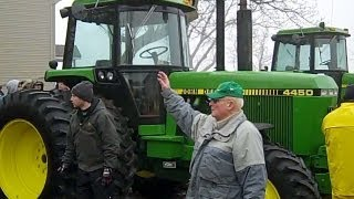 John Deere 4450 Tractor Sold for Record Price on Alpha, MN Farm Auction