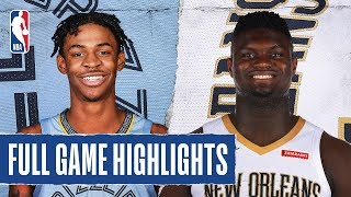 Gambar cover GRIZZLIES at PELICANS | FULL GAME HIGHLIGHTS | January 31, 2020