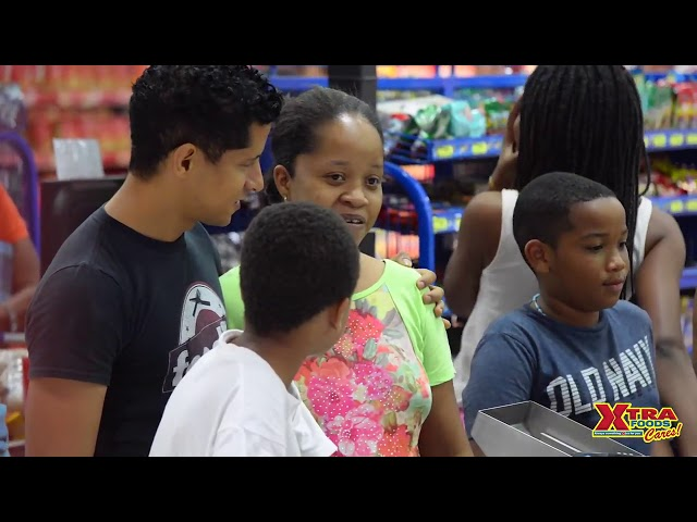 Paying for Peoples Groceries at Xtra Foods Arima