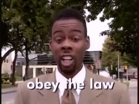 Chris Rock PSA  - How Not To Get Your A** Kicked By The Police