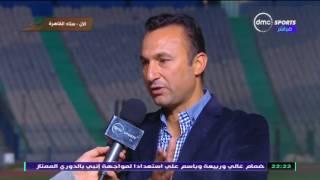 دوري dmc تصريحات مصطفى عبده المدير الفني لفريق الزرقا بعد التعادل مع سيراميكا