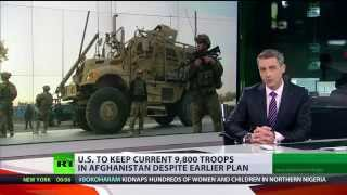 US ditches plan to reduce troops in Afghanistan - after invite