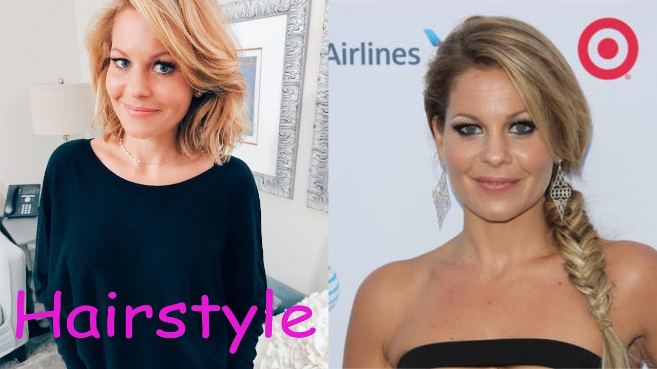 candace cameron hairstyle (2018)