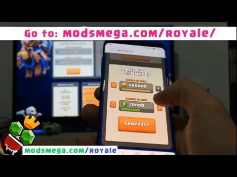Clash Royale Hack | How to get Clash Royale Free Gems