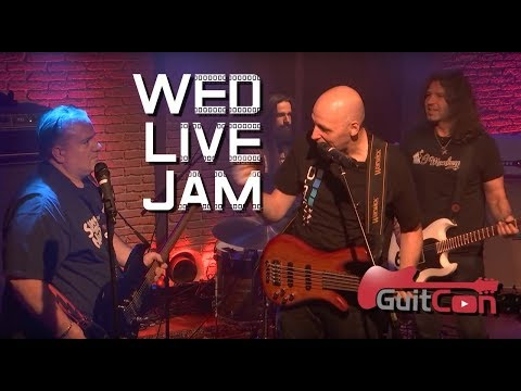 GuitCon Wed. Live Jam - With The Tone King, Pete Thorn, Tom Quayle, Tyler Larson, Mick Taylor