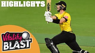Birmingham v Gloucestershire | Smith Takes 5-16 As Cockbain Hits 84 | Vitality Blast 2020 Highlights