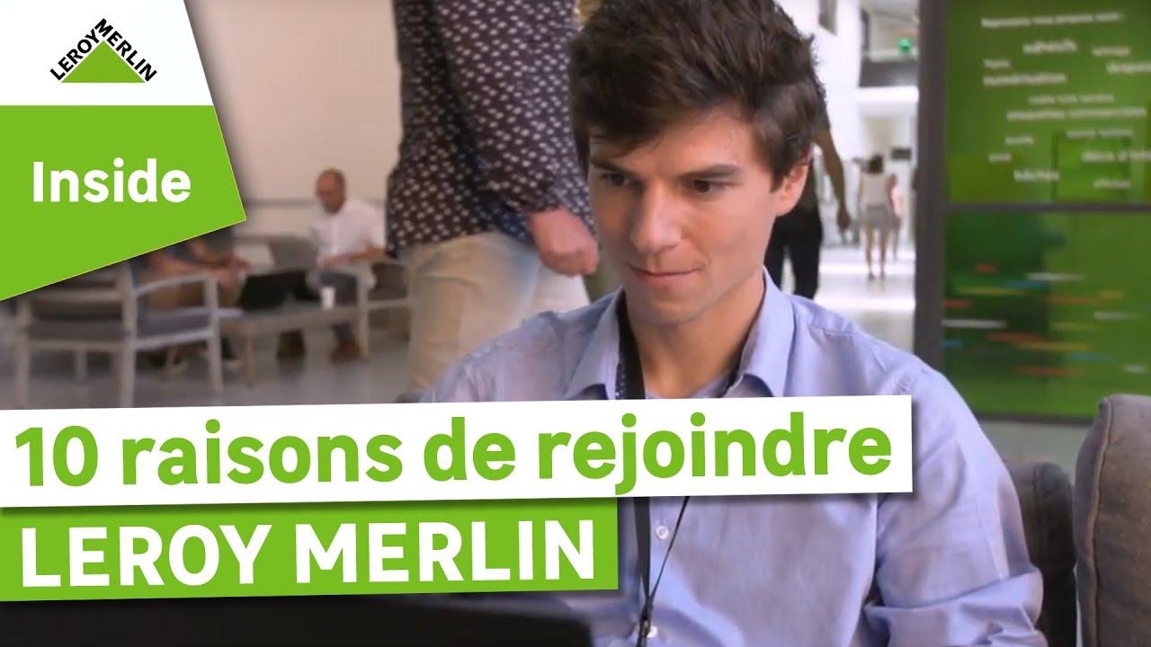 Download Les 10 raisons de travailler chez Leroy Merlin