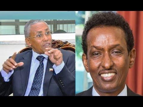 Wasiirka Arimaha Dibada Somaliland iyo Dhigiisa Soomaaliya oo Kulmay.