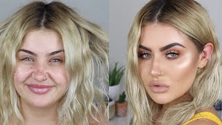 0 TO 100 | HAIR & MAKEUP TUTORIAL | JAMIE GENEVIEVE