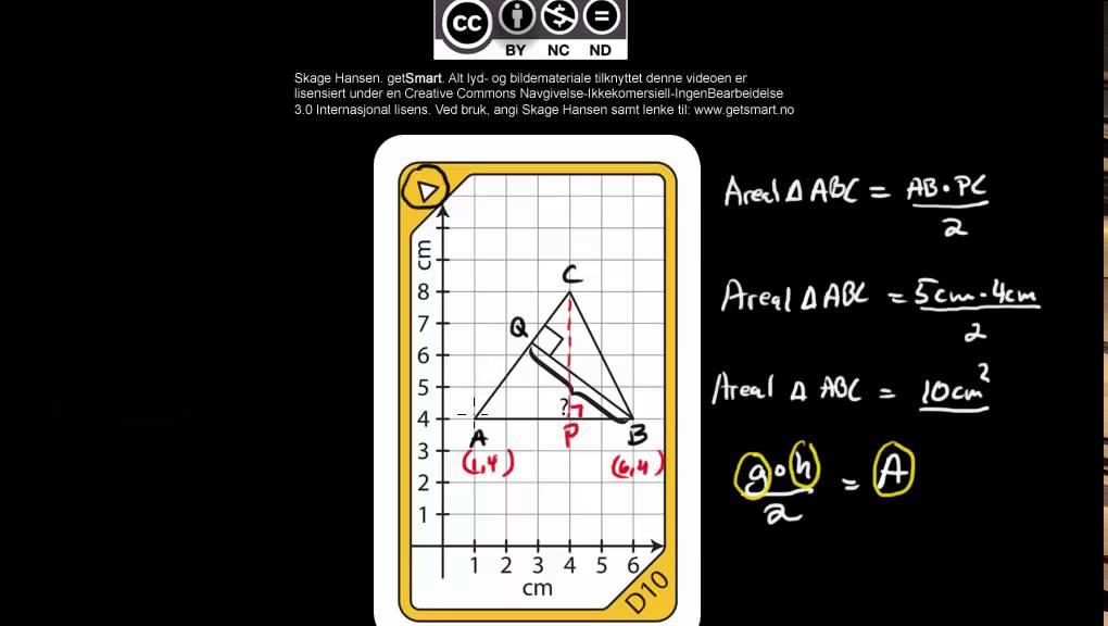 B00250 Losning Av Kort D10 Fra Getsmart Geometry Youtube