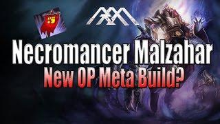 Necromaner Malzahar - New Meta Build? - League of Legends