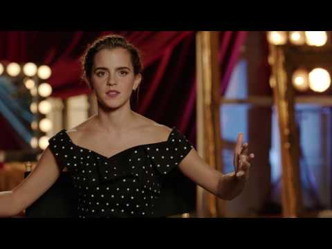 "Beauty and the Beast: Emma Watson ""Belle"" Official Movie Interview"