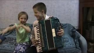 Доренский сонатина в классическом стиле аккордеон