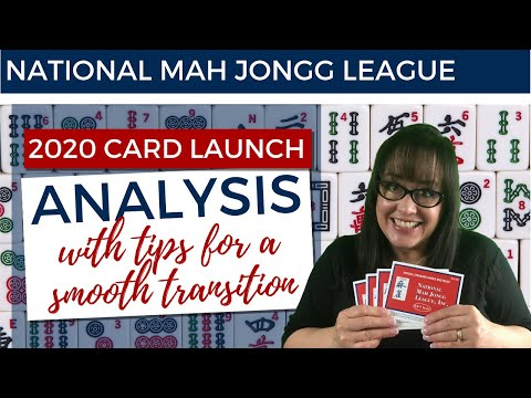 National Mah Jongg League 2020 Card Analysis And Tips For A Smooth Transition