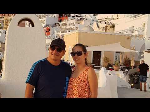 Mykonos, Santorini Y Atenas En 4k