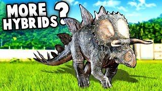 More HYBRID Dinosaurs!?  (Jurassic World Evolution Fallen Kingdom DLC)