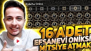 16 Adet Efsanevi Oniksini Mitsi Simyaya Atmak - Metin2 TR #195