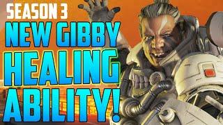 Apex Legends Season 3 Gibraltar Buff! New Fast Heal Ability!