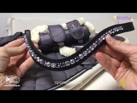 fa6f8f3147ec5 DIY Stirnriemen - Selber machen für ihr Pferd oder Pony -  Reitsportgeschäft  individuelle Outfits