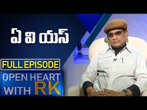 Comedian AVS | Open Heart with RK | Full Episode | ABN Telugu