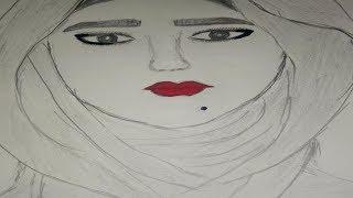 تعليم الرسم للمبتدئين/ كيف ترسم وج…