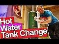 HOT WATER TANK CHANGE - Job report - Plumbing Tips