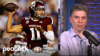 Could Kellen Mond become Minnesota Vikings' future franchise QB? | Pro Football Talk | NBC Sports