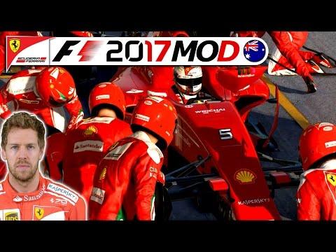 Eine legendäre Saison beginnt! – F1 2017 Saison Mod German   Sebastian Vettel Karriere #1 Deutsch