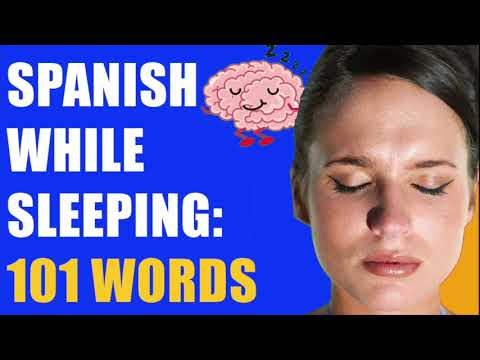 Learn Spanish While You Sleep: 101 Basic Vocabulary Words