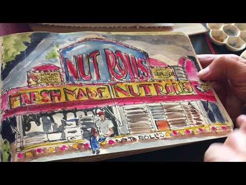 Lynn Pauly's Sketchbook Tour