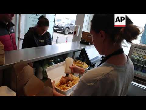 Seaside Cafe Serves UK's 'best Fish And Chips'