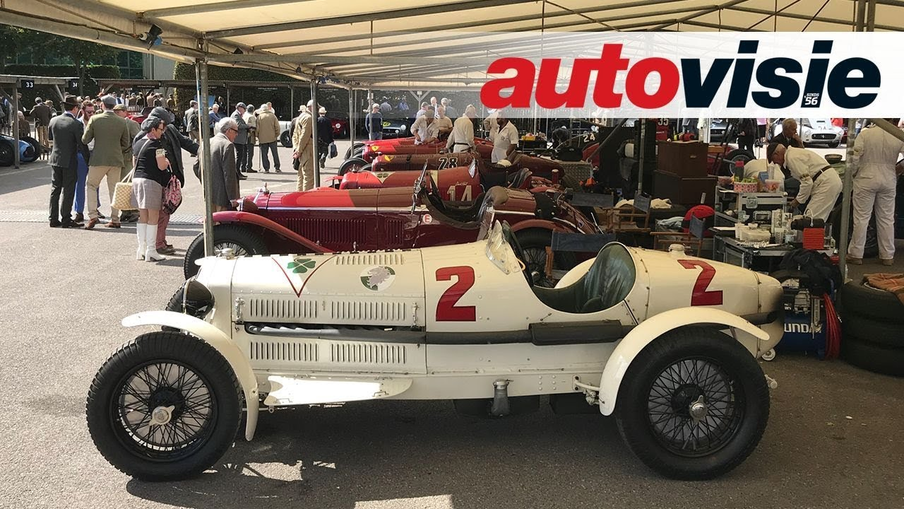 Goodwood Revival 2018 Impressie Autovisie Vlog
