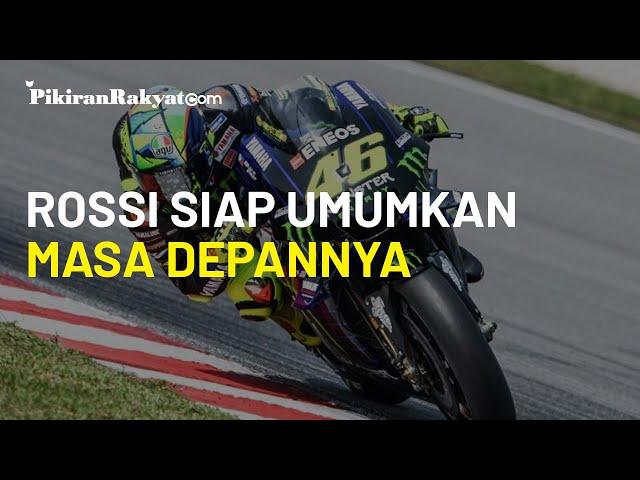 Valentino Rossi Siap Umumkan Masa Depannya di MotoGP, Kemungkinan akan Gabung dengan Petronas Yamaha